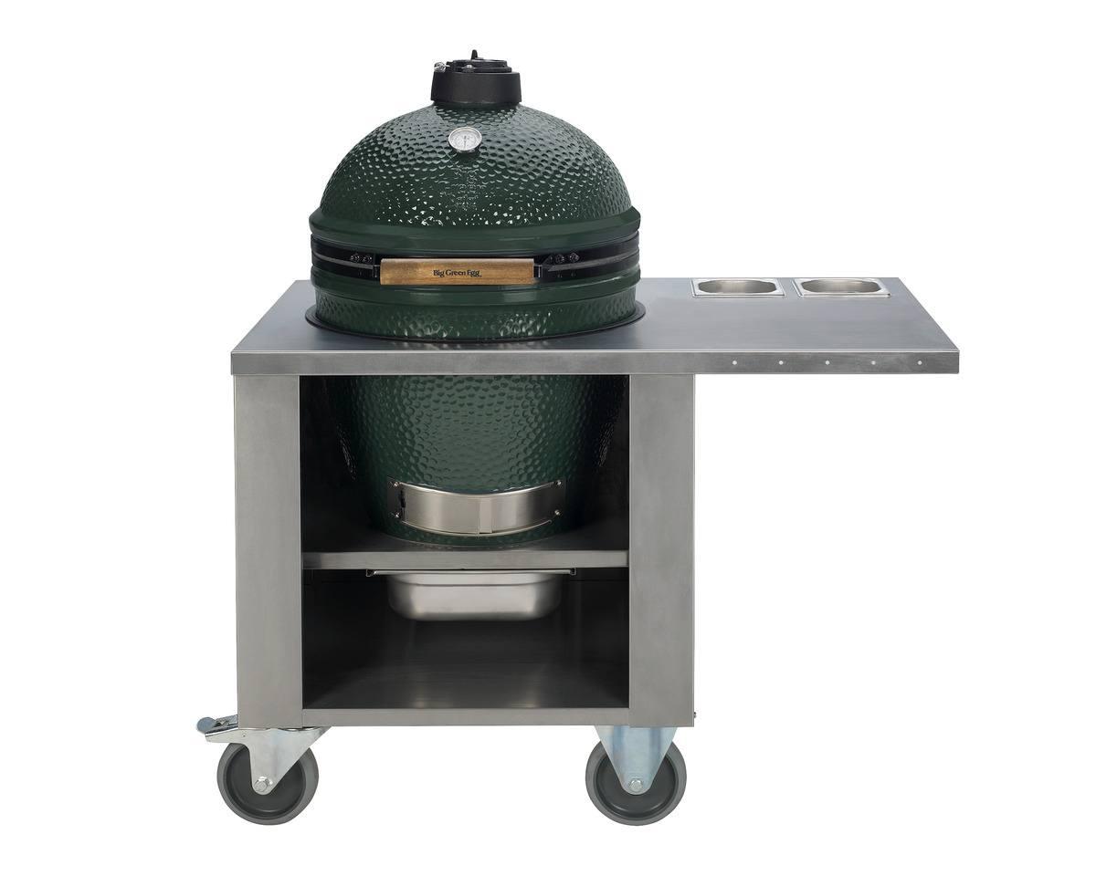 big-green-egg-rvs-tafel-verrijdbaar