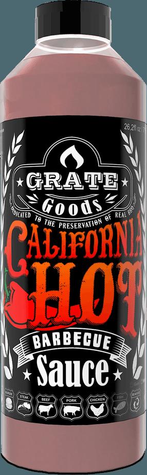 California Hot Barbecue Saus