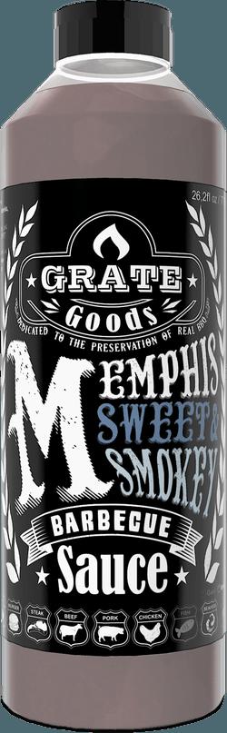 Memphis Sweet & Smokey Barbecue Saus