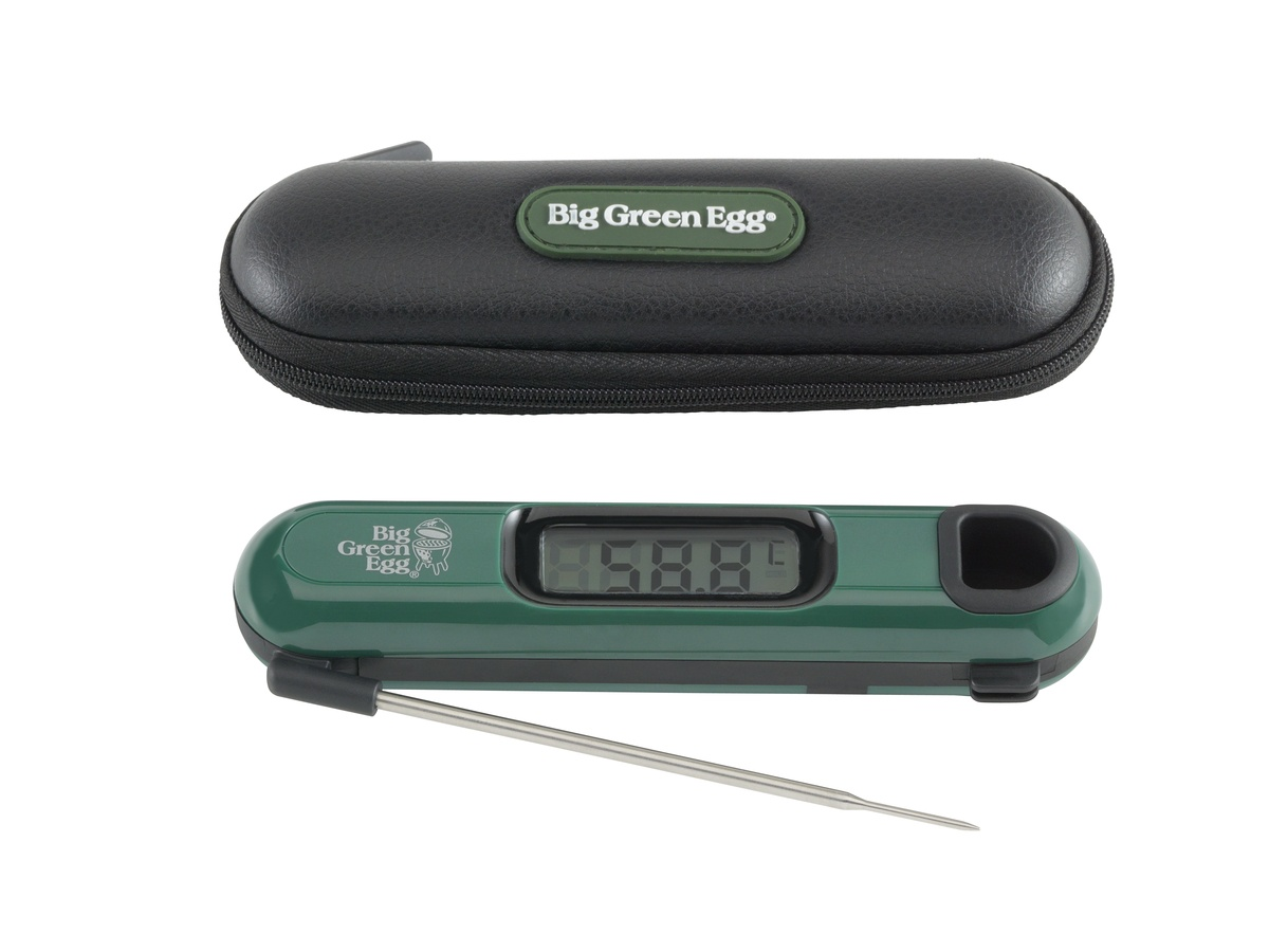 instant read digital thermometer beleef green egg d big green egg specialist beleef green. Black Bedroom Furniture Sets. Home Design Ideas