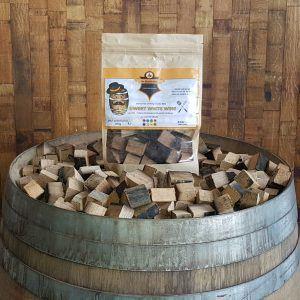 Mr Barrel BBQ chunks zoete witte wijnvaten
