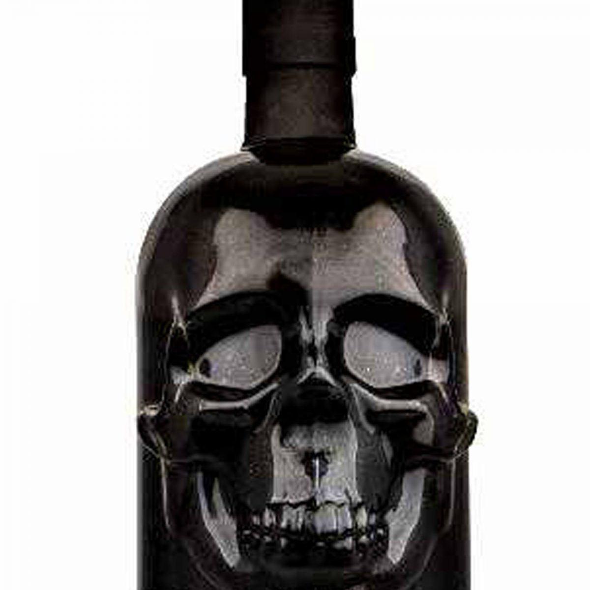 Saus.Guru hot saus - Black Gold Skull Bottle