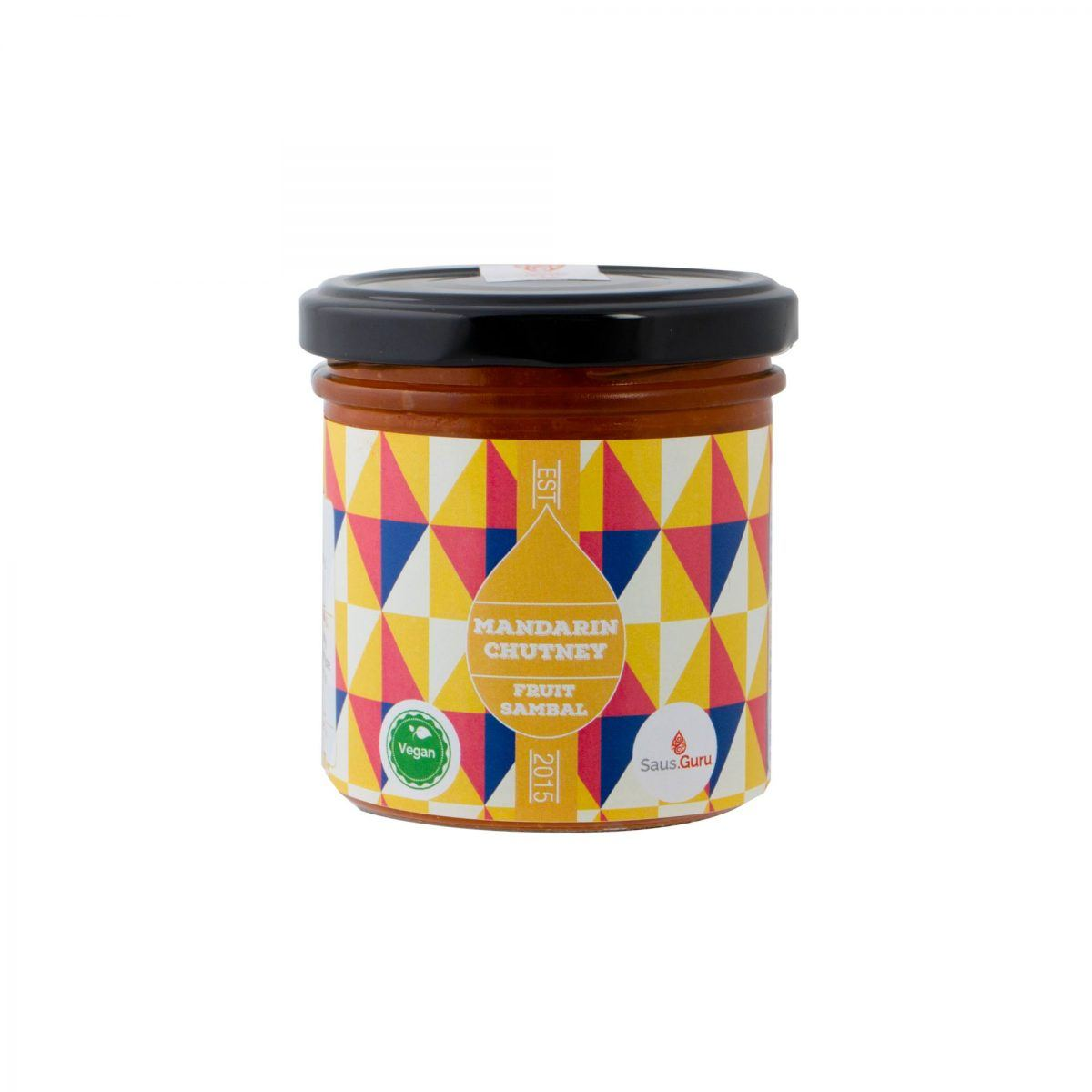 Saus.Guru fruit sambal mandarin chutney