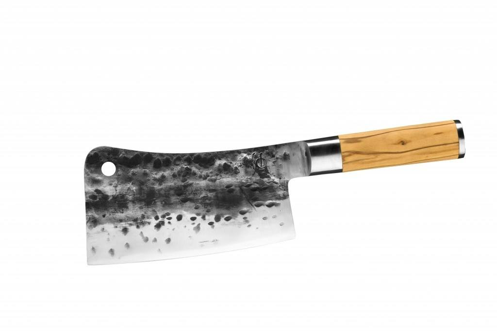 Olive Forged Aziatisch Hakmes Cleaver