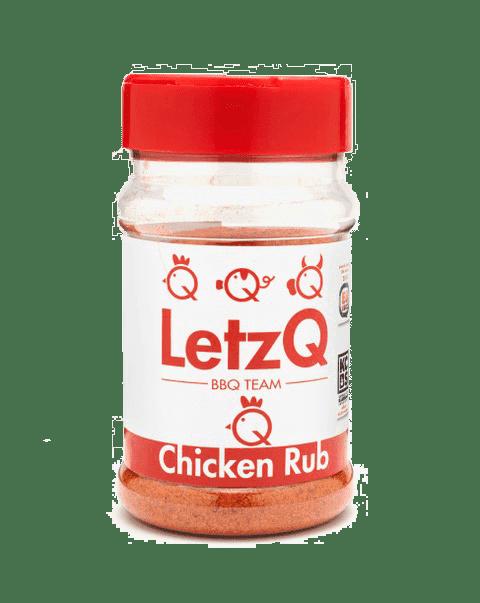 LetzQ Chicken Rub 350 gram pot