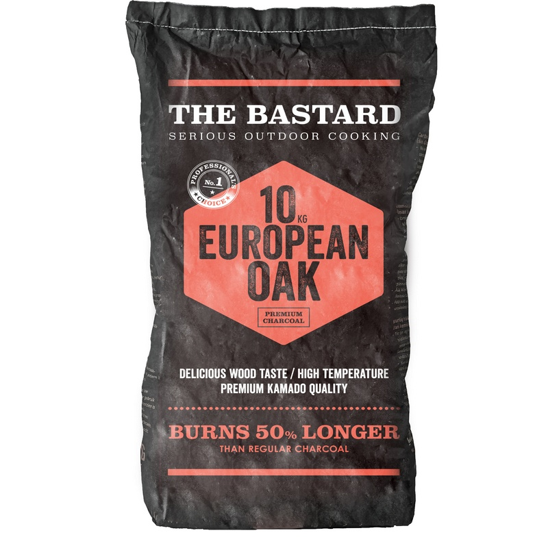 Houtskool European Oak 10kg The Bastard