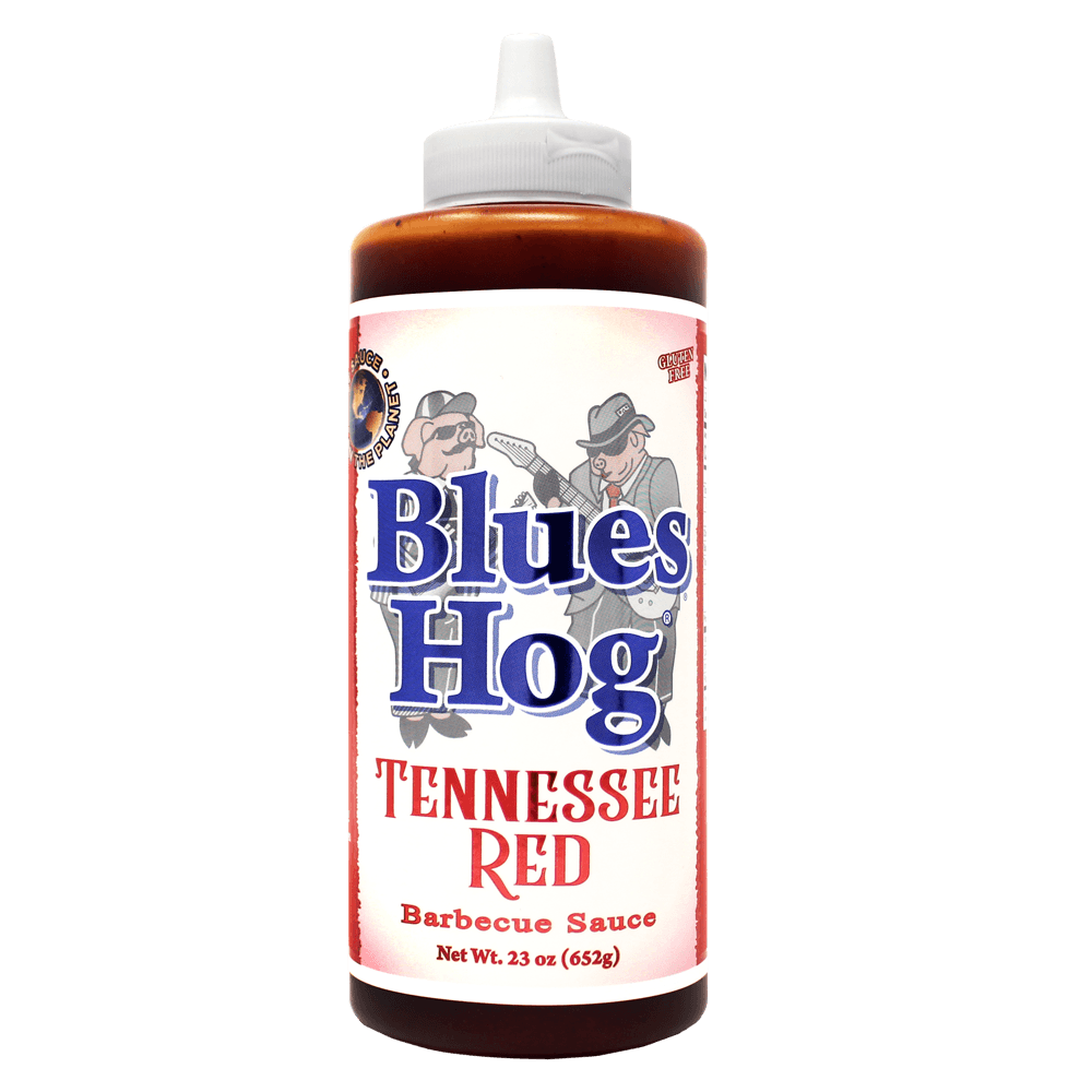 Blues Hog Tennessee Red Squeeze Bottle (knijpfles)